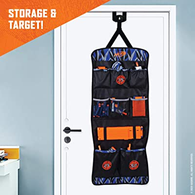 NERF Elite Over The Door Storage: Toys & Games