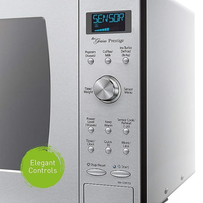 Amazon.com: Panasonic NN-SD775S encimera/microondas de onda ...