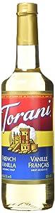 Torani Syrup, French Vanilla, 25 oz