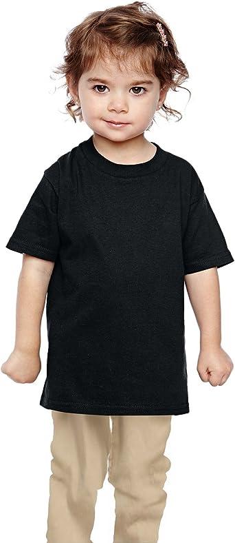 G510P Gildan Toddler Heavy Cotton 5.3 oz -RED -4T-12PK T-Shirt