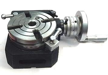 Precision HV4 - Juego de mesa giratoria con placa divisoria ...