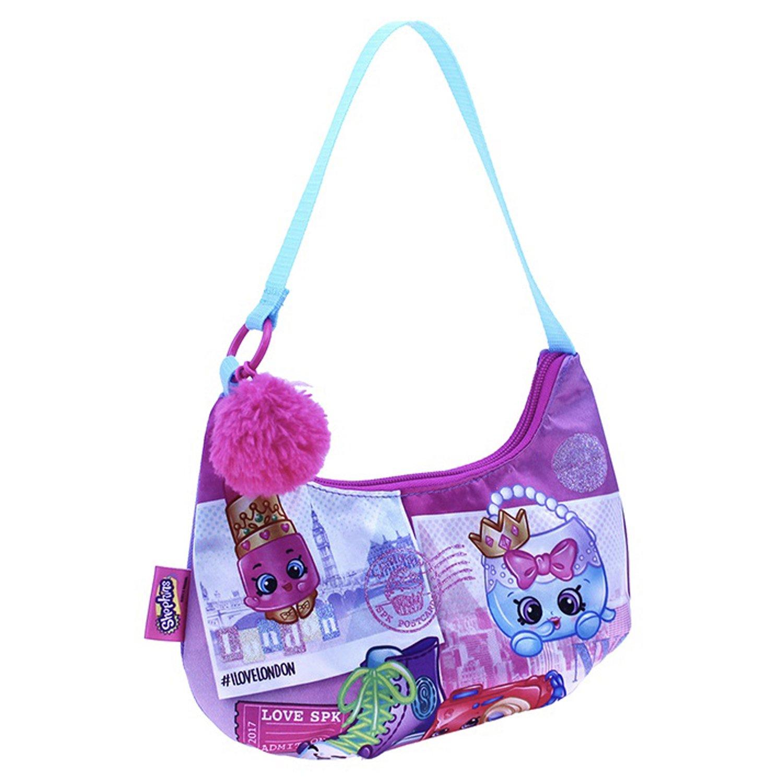 Shopkins ショルダーバッグ, ピンク/パープル, One Size  ピンク/パープル B0766V6Y6J