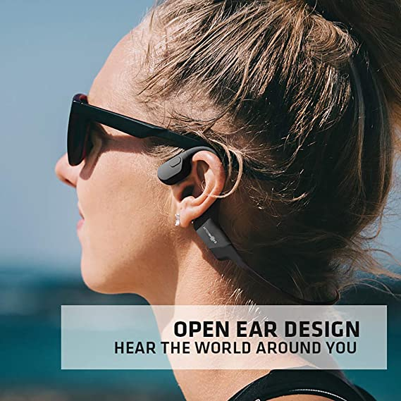 Aftershokz AS800 Bluetooth for Sports Wireless On-Ear Headphones