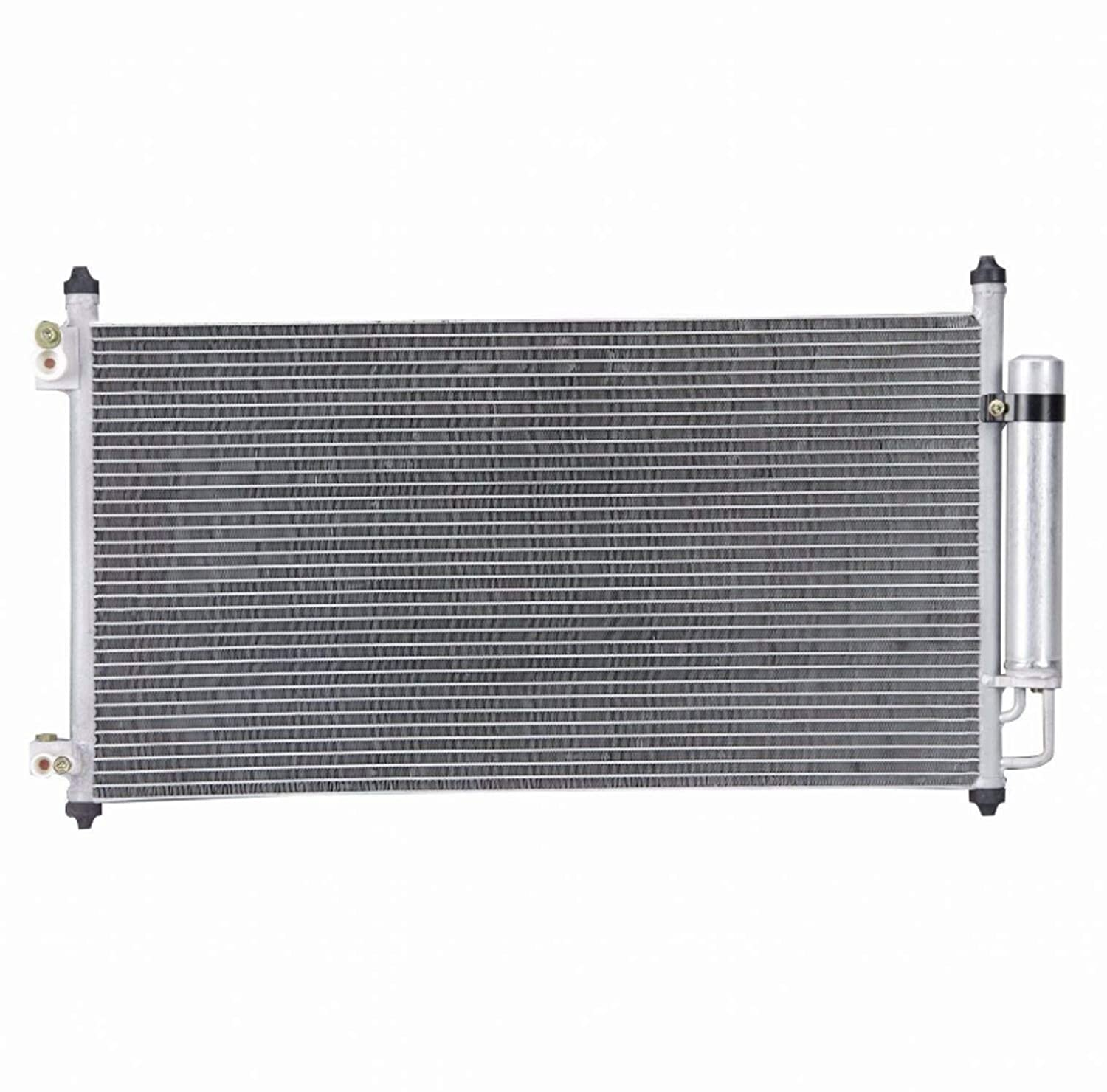 ZR A//C Air Condition Condenser All Aluminum Assembly For 2004-2008 Acura TL 3.2L 2007-2008 Acura TL 3.5L V6 5//8 Core Thickness