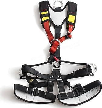 Xinda Arnés de seguridad de cuerpo completo para escalada de ...