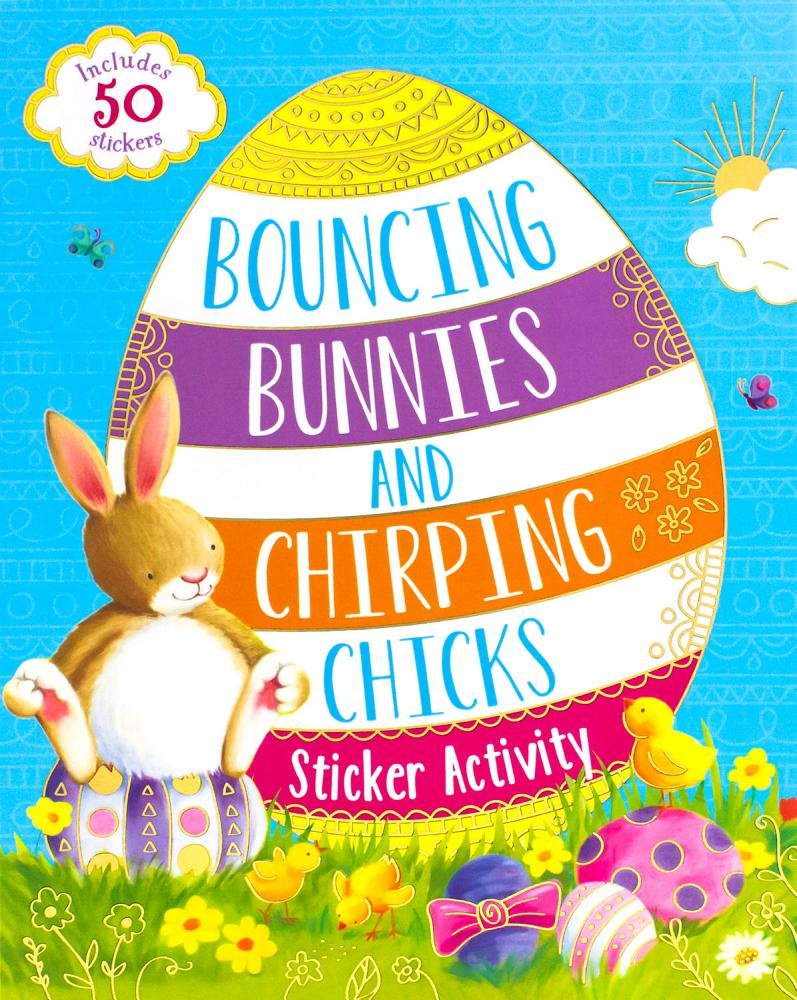Bouncing Bunnies and Chirping Chicks Sticker Activity ebook