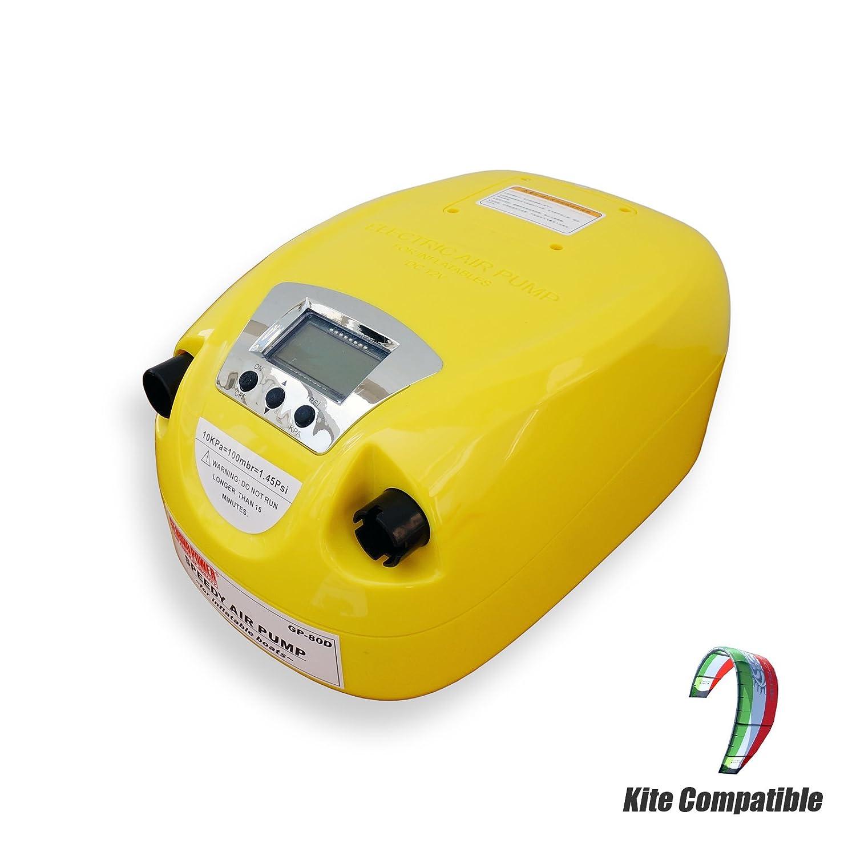 (お得な特別割引価格) Seamaxポータブル12 V電動エアポンプwithデジタル圧力制御1 B077YTP35K to Seamaxポータブル12 8.5 PSIのエアボート、カヤック、ラフト、and Kite ( ( no battery ) B077YTP35K, けいとのコーダ:72ee0c44 --- adornedu.com