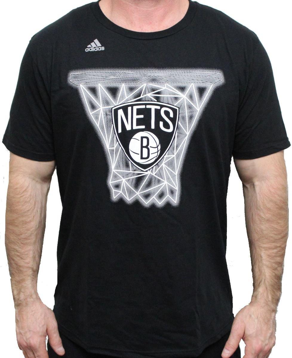 adidas Brooklyn Nets NBA Net Web Camiseta de Manga Corta ...