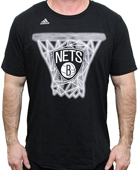 Adidas Brooklyn Nets NBA Net Web Camiseta de Manga Corta para Hombre
