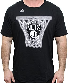 adidas Brooklyn Nets NBA Net Web camiseta de manga corta para hombre: Amazon.es: Deportes y aire libre