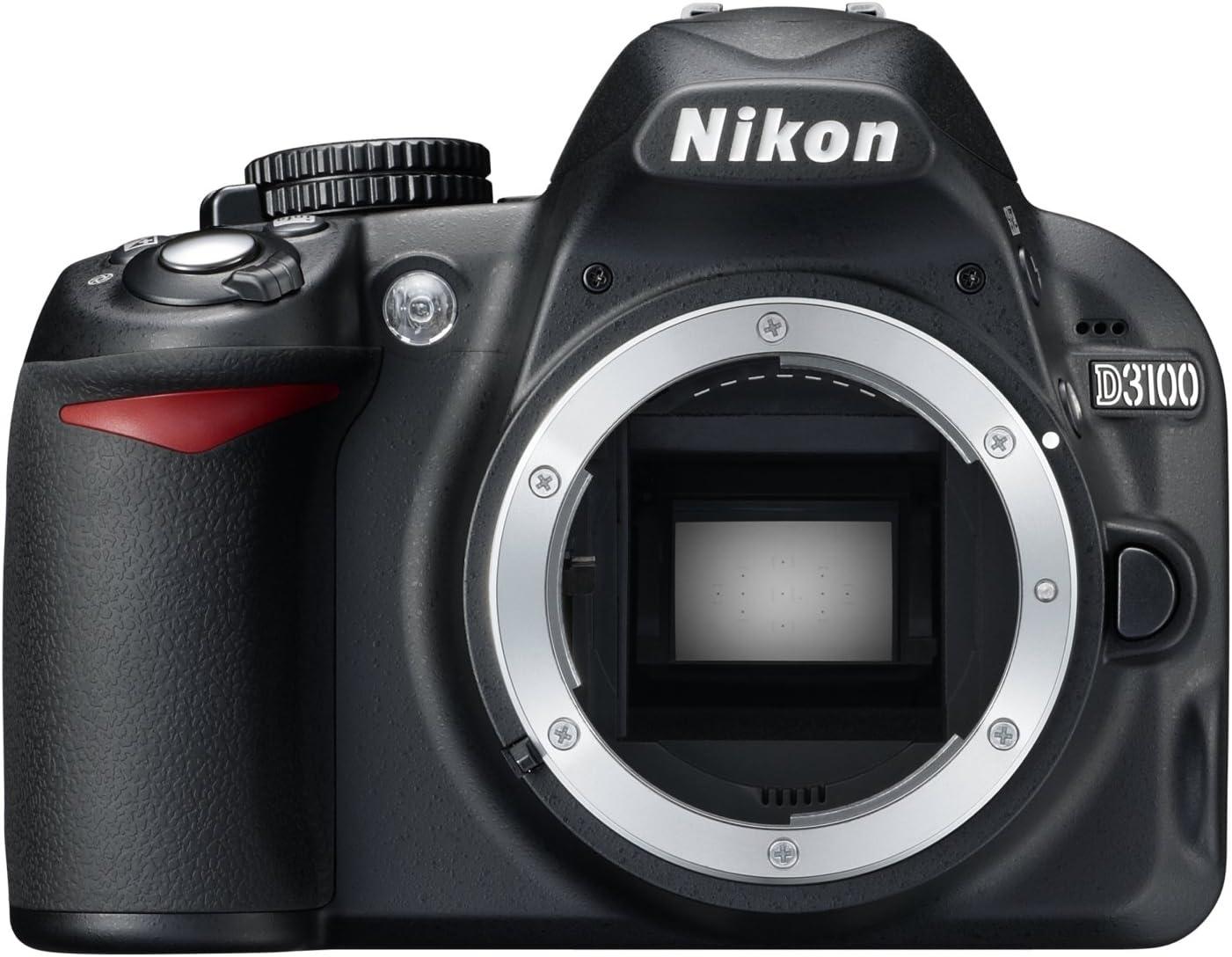 Nikon D3100 - Cámara réflex digital de 14.2 Mp (pantalla de 3 ...