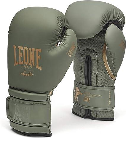 Leone 1947 Guantes de boxeo Edición Militar MMA UFC Muay Thai Kick Boxeo K1 Guantes de entrenamiento de karate (Verde, 14.9 oz): Amazon.es: Deportes y aire libre