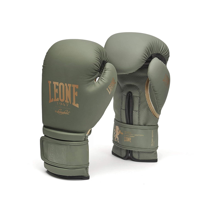 Leone GN059G ミリタリーエディション ボクシンググローブ B07HWRRWL1 グリーン 16 Oz
