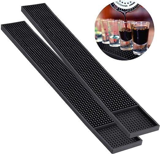 """Service Rubber Spill Mat Non-Slip Drink Bar Restaurant Home Counter 12x6/"""""""