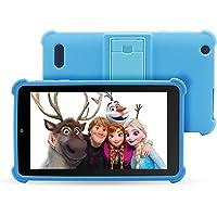 "Venturer Small Wonder 7"" Android Kids Tablet with Disney Books, Bumper Case & Google Play, 16GB Storage & 2GB RAM (Blue)"