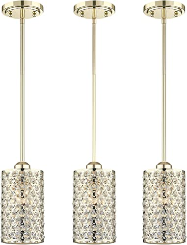 Doraimi 1 Light Crystal Pendant