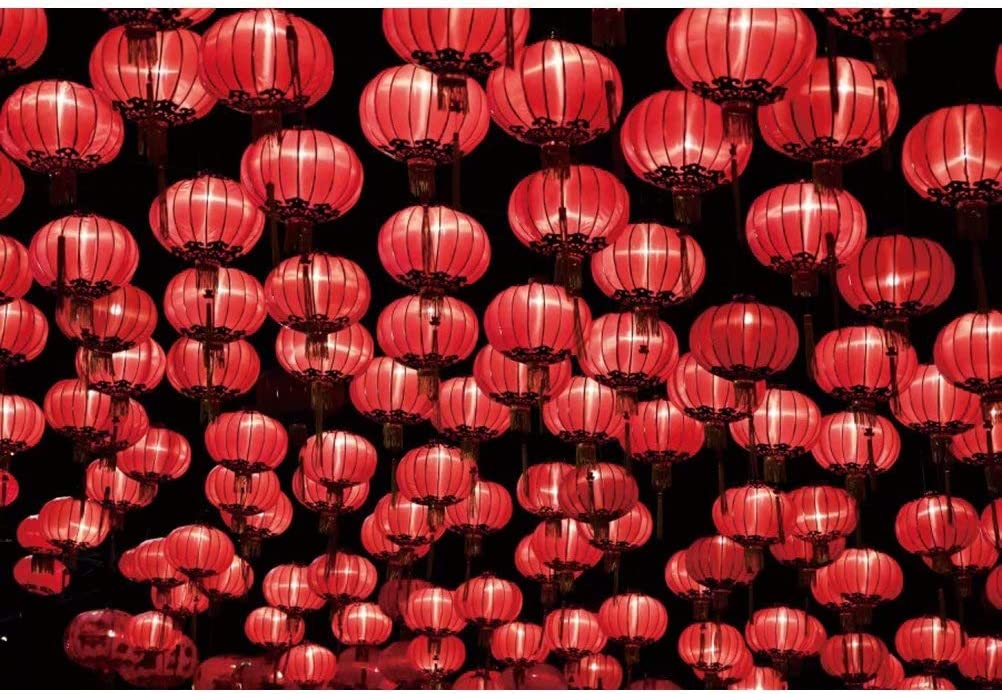 Amazon Com Ofila Chinese Red Lanterns Backdrop 6 5x5ft Polyester Fabric Chinatown New Year Festival Celebration Decor Background Lunar Year Carnival Shoots Lantern Festival Show Photos Studio Props Camera Photo