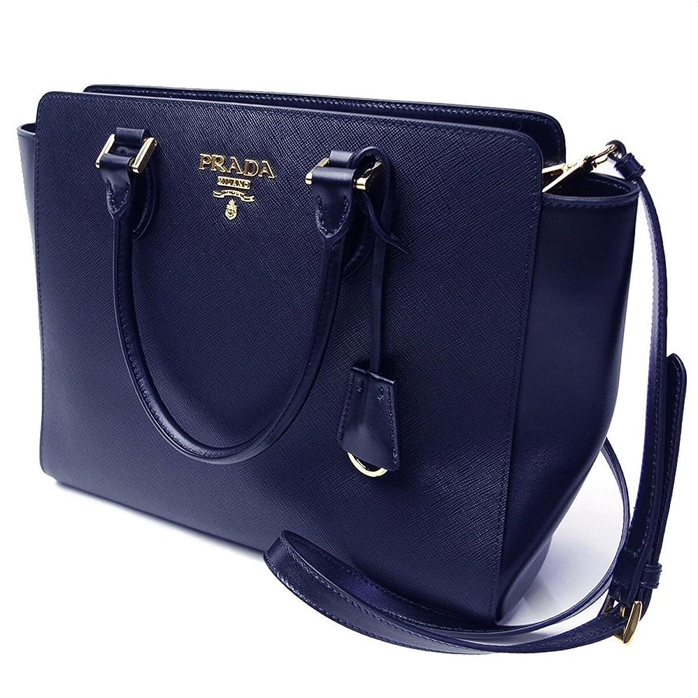 99315ba4437 ... 2 way strap 3c0dc 771c9  real prada navy blue saffiano leather bag  1ba189 handbags amazon 94260 1585b