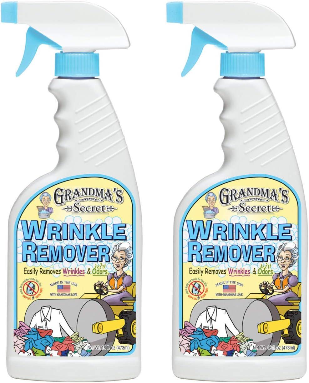 GRANDMA'S Secret wr Wrinkle Remover Spray, 16 oz-2 Pack
