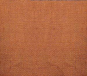 Burlap Fabric Rust / 48