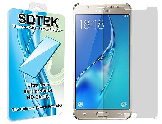16 opinioni per SDTEK Samsung Galaxy J5 (2016) Vetro Temperato Pellicola Protettiva Protezione