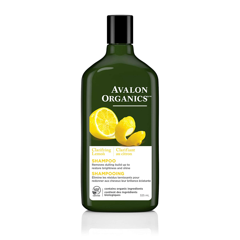 Avalon Organics Clarifying Lemon Shampoo, 11 oz. (Pack of 2)