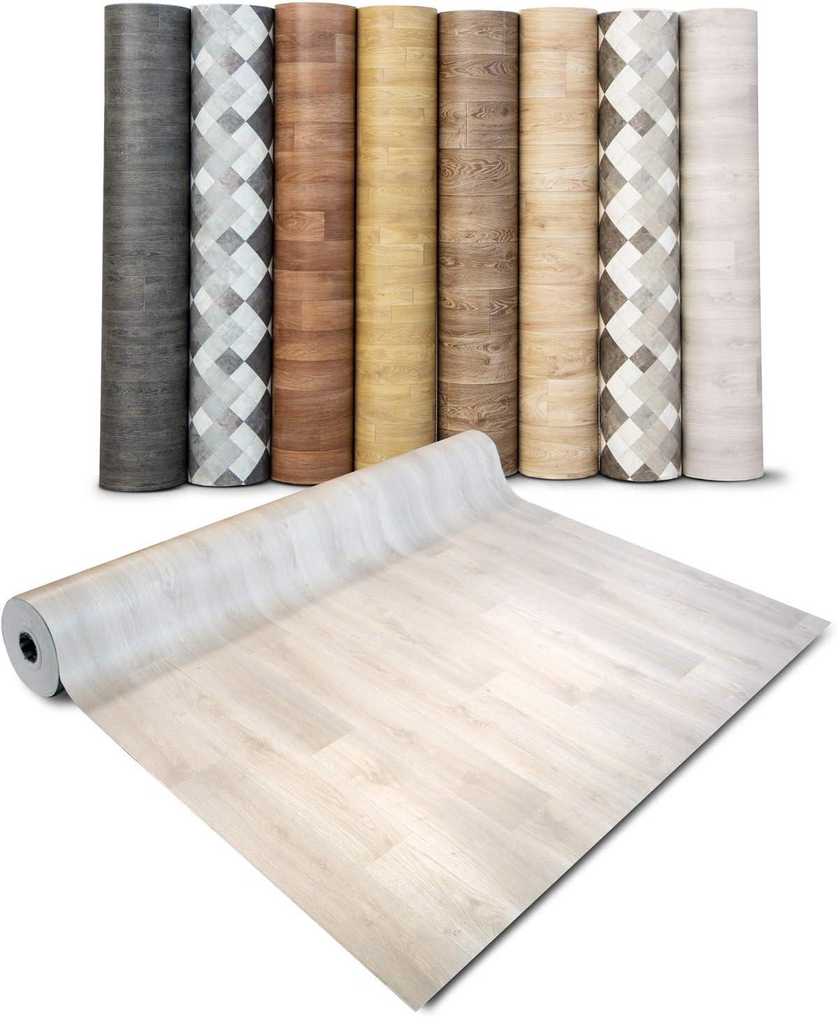 Film Vinyle Pour Meuble /& Sol Sol PVC Rouleau Antid/érapant /& 100/% /Écologique casa pura Rev/êtement Sol PVC Stickers Effet Bois Aspect H/être - 100x200 cm