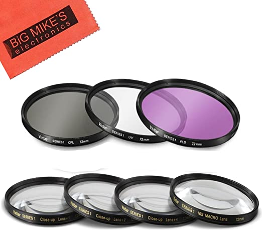 Ultraviolet UV Multi-Coated HD Glass Protection Filter for Canon EF 28-80mm f//2.8-4 L Lens