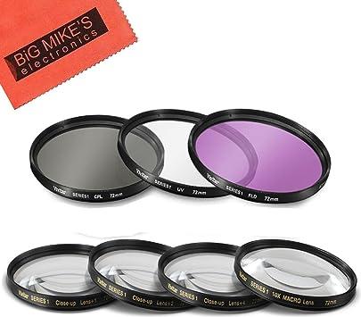 Filterset UV CPL kit 55mm creativo Filterset 55mm FLD