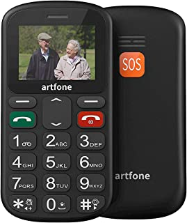artfone Teléfonos Móviles para Mayores con Teclas Grandes Móviles  (CS181)