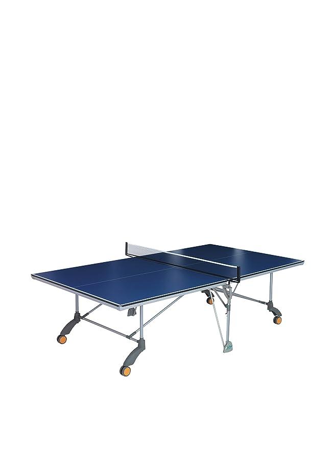 Enebe Mesa Indoor Ping Pong Terra Azul: Amazon.es: Deportes y aire ...