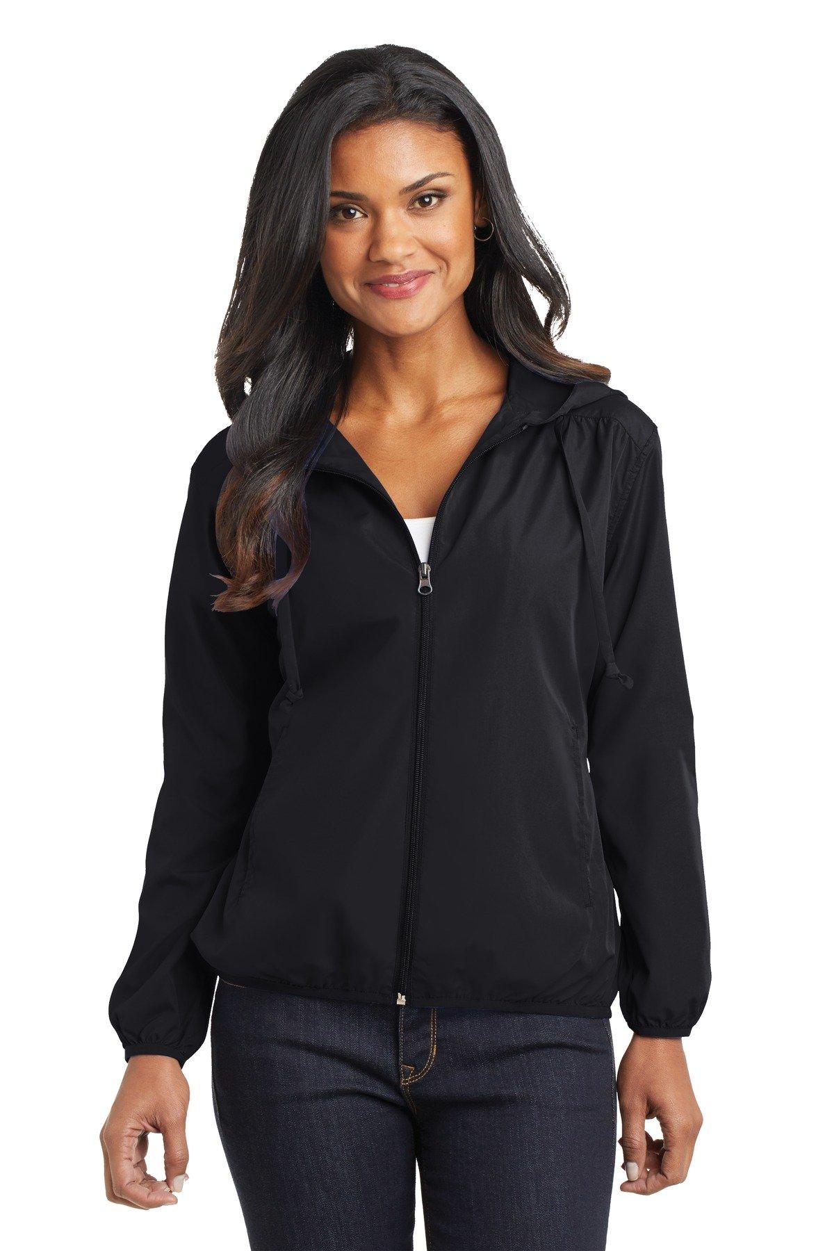 Port Authority Women's Hooded Essential Jacket XXL Black