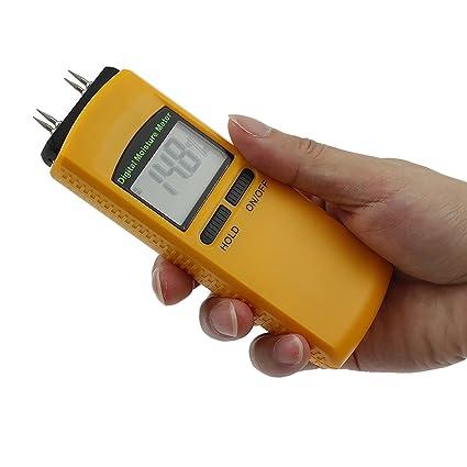 neoteck higrómetro medidor de humedad digital 4 pin detector húmedo medir el contenido de humedad para