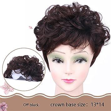 Amazon.com: susanki 6 inches corto ondulado Curl Cabello ...