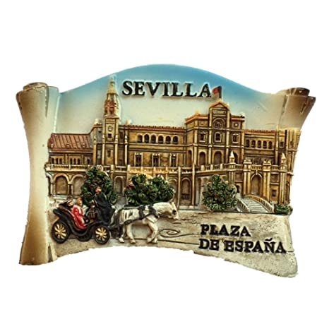 Amazon.com: Sevilla España Europa World City Resina 3D ...