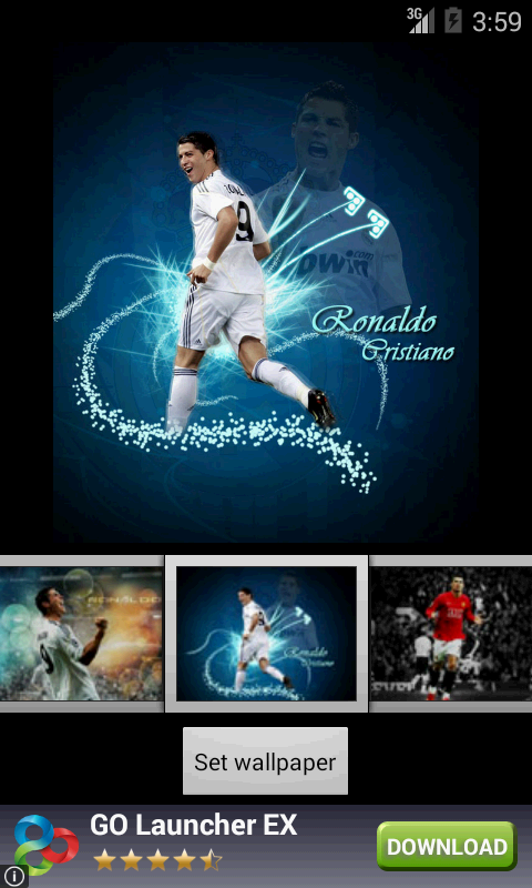 Cristiano Ronaldo Live Wallpapers: Amazon.es: Appstore para Android