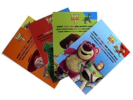 Amazon Com Toy Story Coloring Books Disney Toy Story Giant