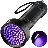 UV Flashlight Black Light Torch, Eocean 68 LED Ultraviolet Blacklight Flashlights Detector for Dog Urine, Pet Dry Stains…