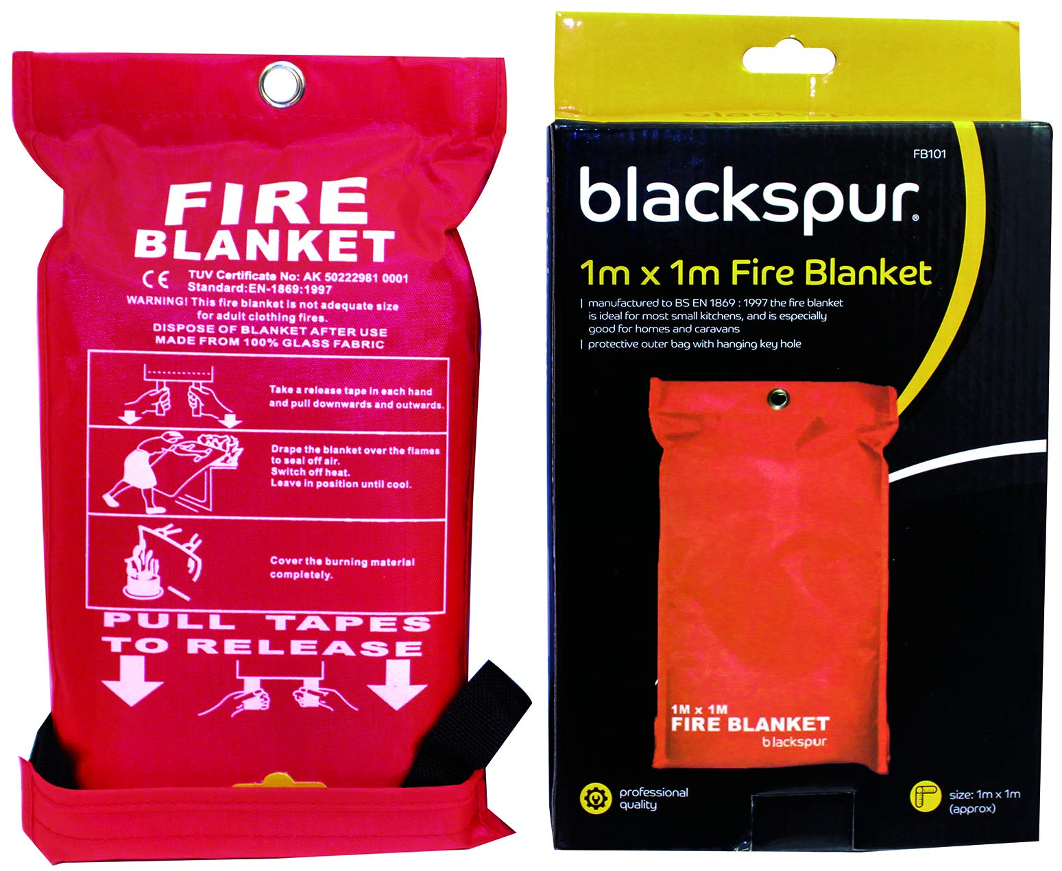 Blackspur BB-FB101 Fire Blanket