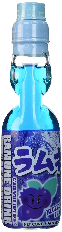 Hata Ramune Soda Blueberry 6.6 oz