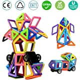 Magnetic Building Blocks, infinitoo 76pcs Kids Toys, Building Toys Construction Blocks, Great Educational Toys for Children, Kids, BAP Free Saftey Toys, Creative Toys as a  Christmas, Birthday