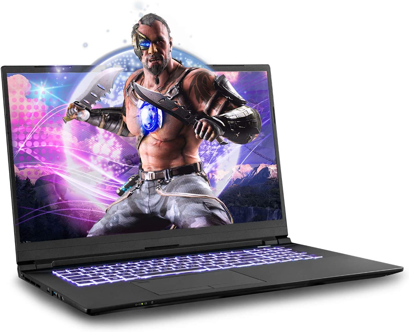 Sager NP8770F1 0.78-Inch Thin, 17.3-Inch FHD 144Hz Gaming Laptop, Intel i7-10875H, RTX 2070, 16GB 3200 RAM, 1TB NVMe SSD, TBT 3, Win 10