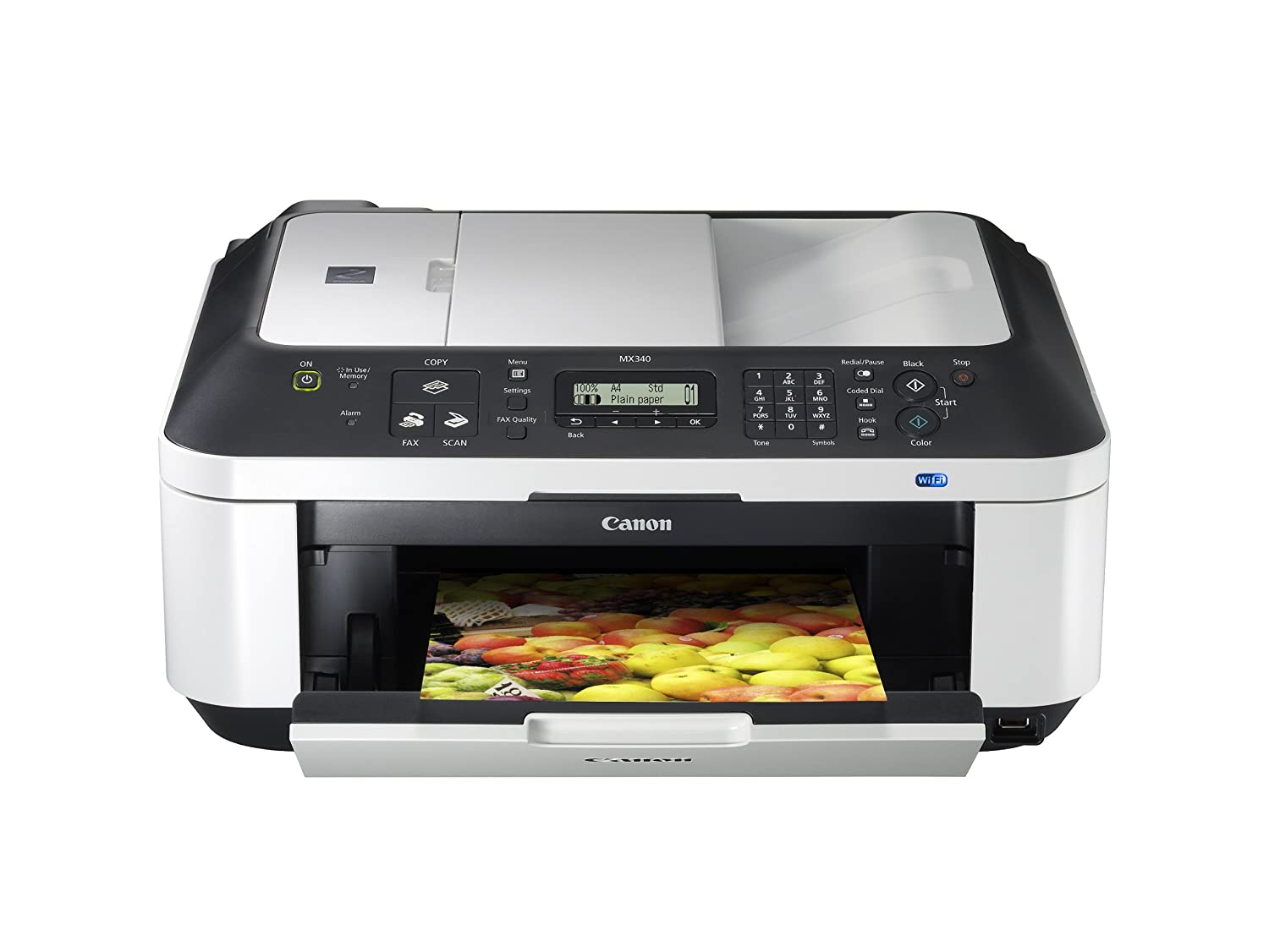 Color printing bu - Amazon Com Canon Pixma Mx340 Wireless Office All In One Printer 4204b019 Electronics