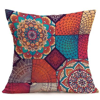 Amazon Big Sale Boho Sofa Bed Office Car Home DecorHighpot Stunning Big Decorative Pillows For Sofa