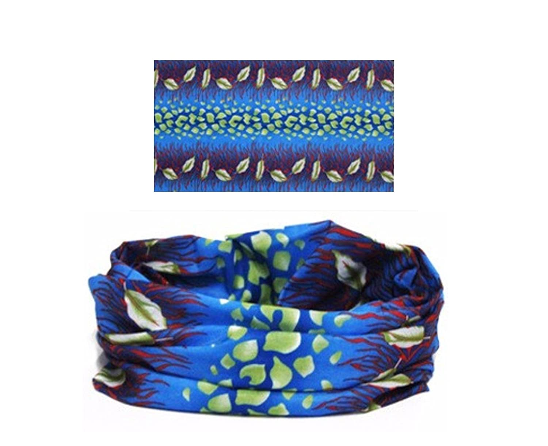 BazarAZ - Bufanda - para niña Azul turquesa Medium