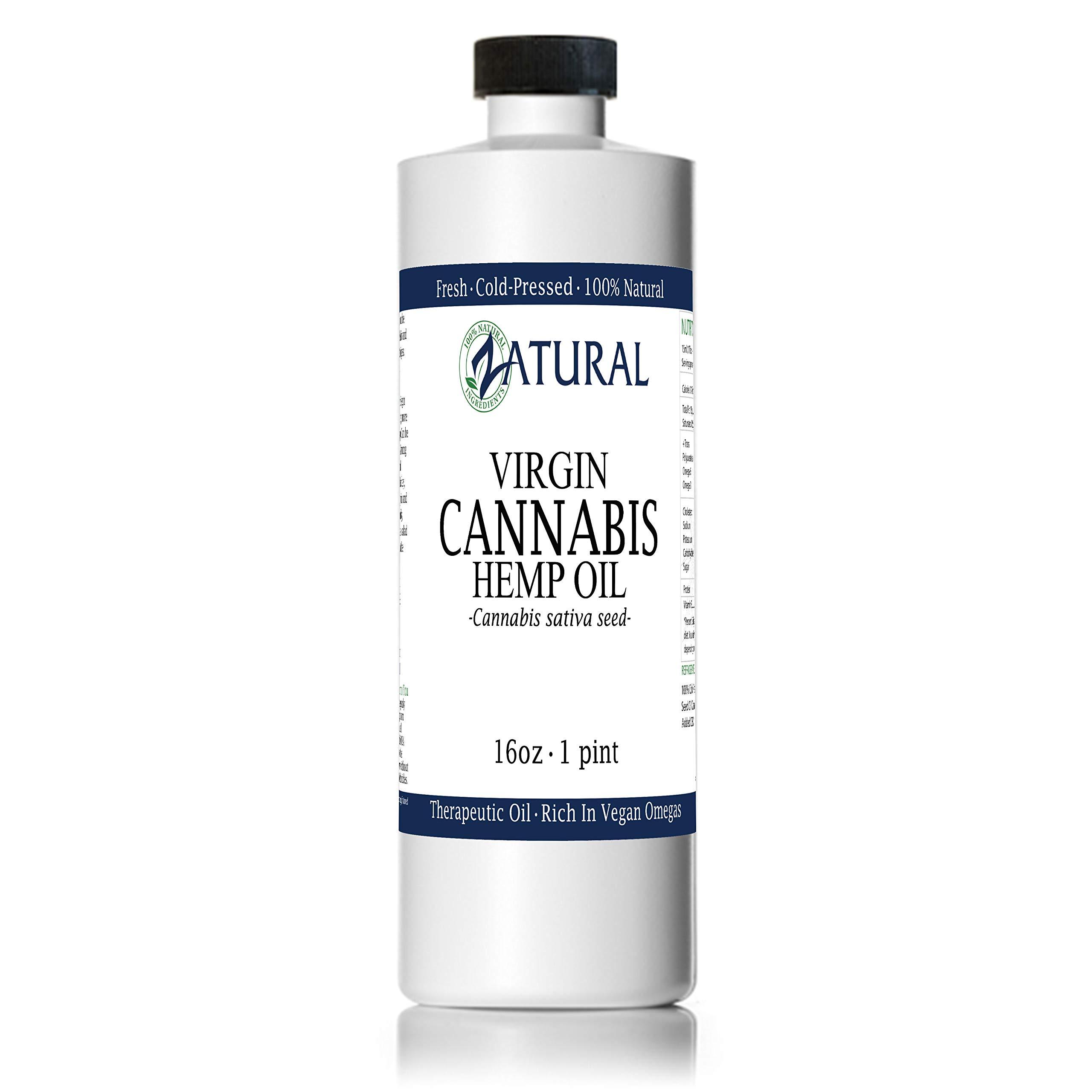 Amazon com: Hemp Oil Extract Full/Broad Spectrum -0% THC