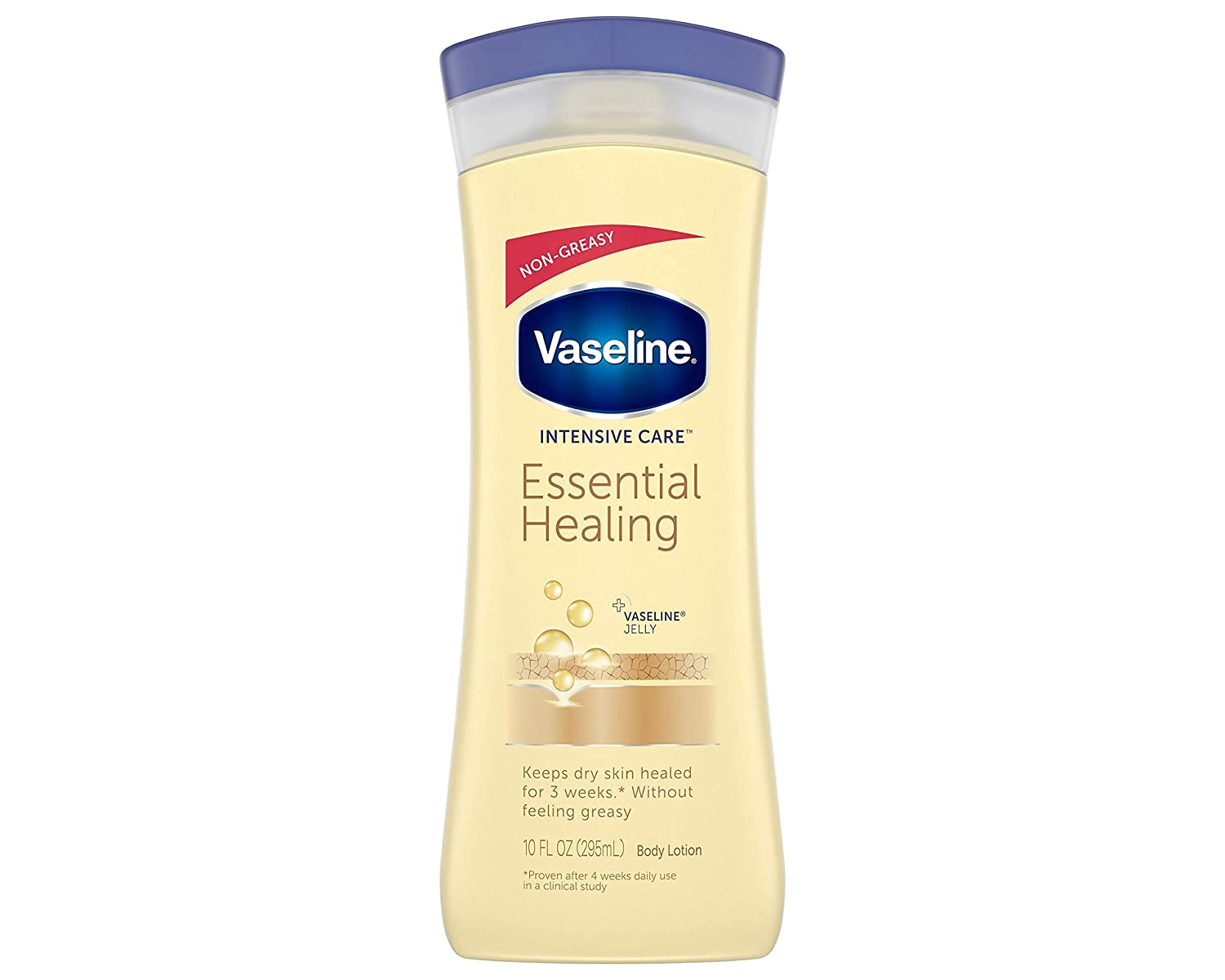 Vaseline Intensive Care Essential Healing Lotion Heal Dry Skin,10 Fl Oz, Pack of 1