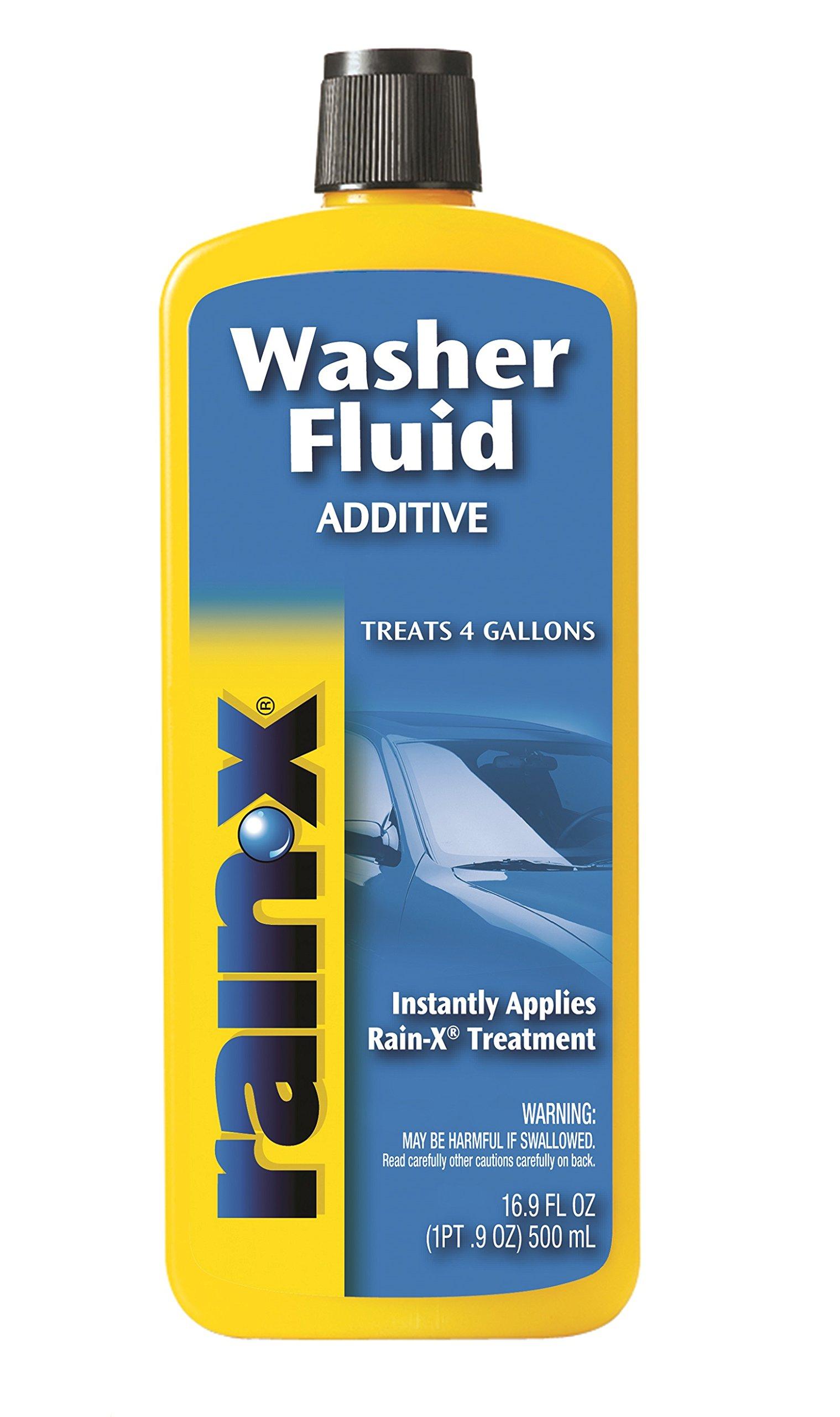 Rain-X RX11806D-8PK Washer Fluid Additive - 16.9 fl. oz. in Each, (Pack of 8)