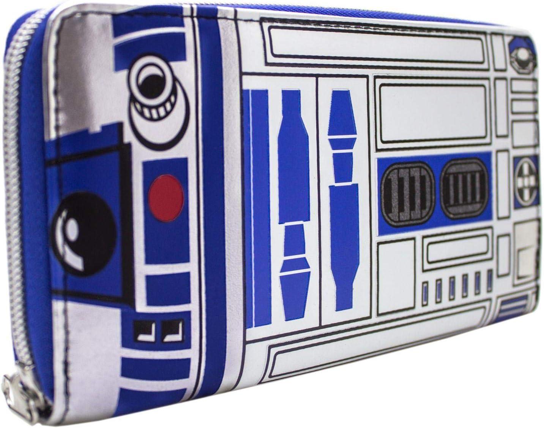 Regalo cartera para dinero y tarjetas original chica Star Wars