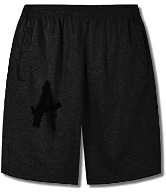 Cool Words Alphabet Shorts For man at Amazon Men's Clothing store: